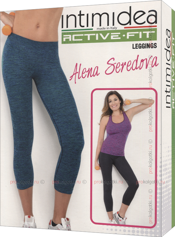 Бельё Женское Active Fit Donna Leggings 7-8 Space 3 - фото 1