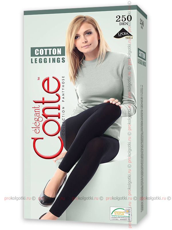 Леггинсы Conte Elegant Cotton 250 Leggings - фото 1
