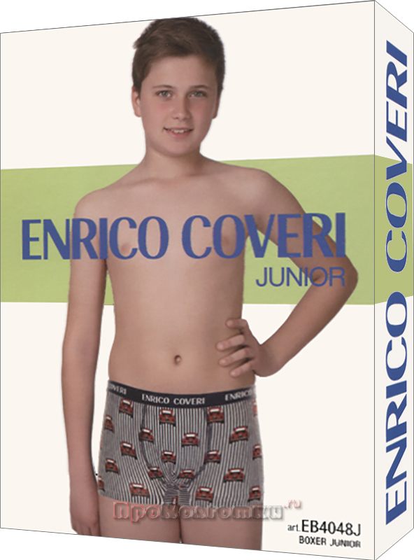 Бельё Мужское Enrico Coveri Eb4048 Junior Boxer - фото 1