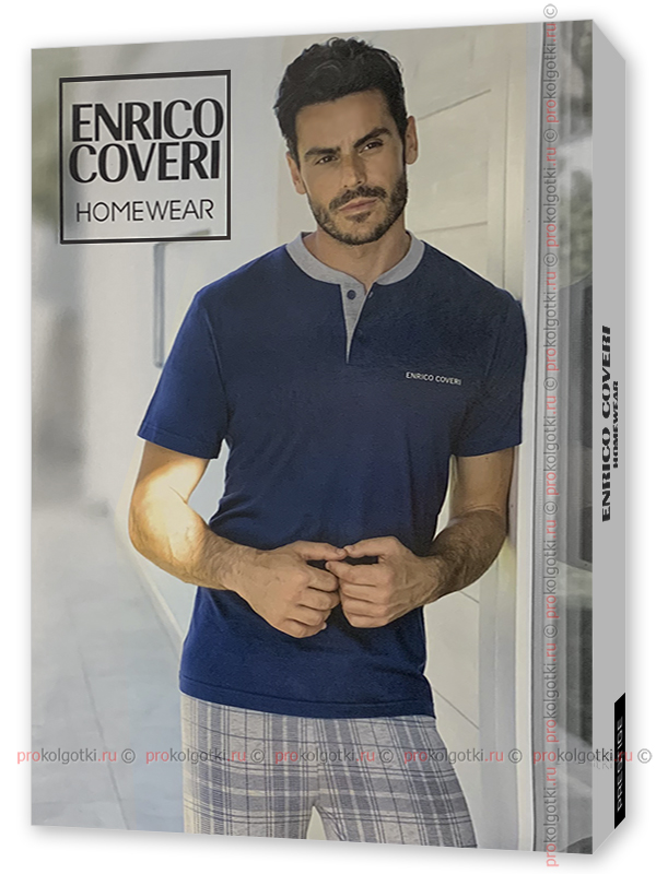 Бельё Мужское Enrico Coveri Ep8100 Homewear - фото 1