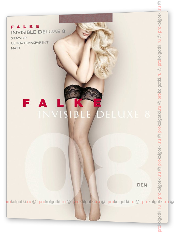 Чулки Falke Art. 41560 Invisible Deluxe 8 Stay-Up - фото 1