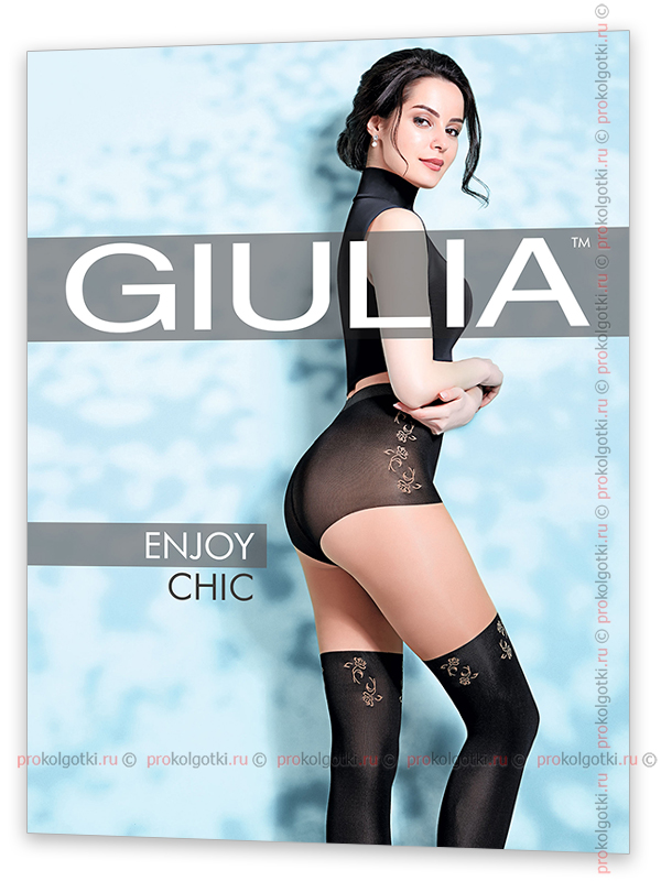 Колготки Giulia Enjoy Chic 60 - фото 1