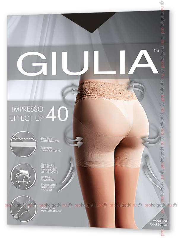 Колготки Giulia Impresso Effect Up 40 - фото 1