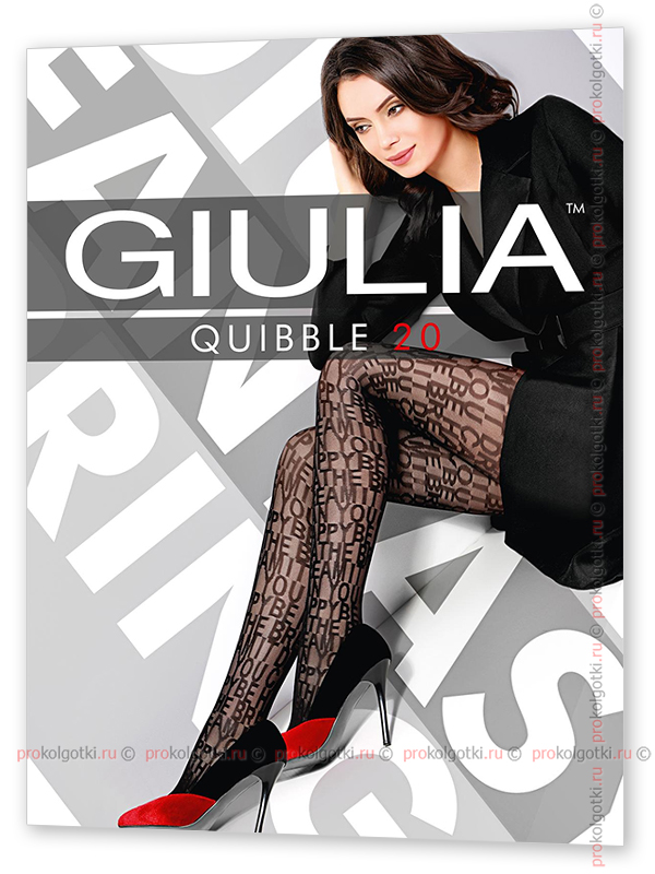 Колготки Giulia Quibble 20 Model 1 - фото 1