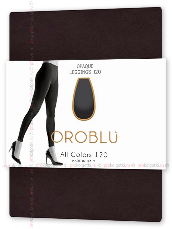 Леггинсы Oroblu All Colors 120 Leggings - фото 1