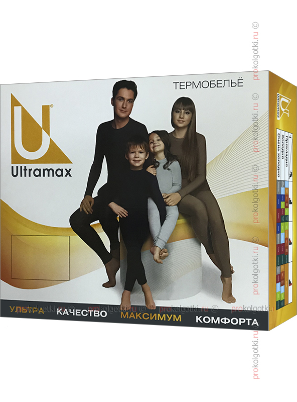 Бельё Женское Ultramax U2122 Set Lady Merino - фото 2